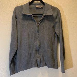 Croft & Barrow- Zip Up Sweater